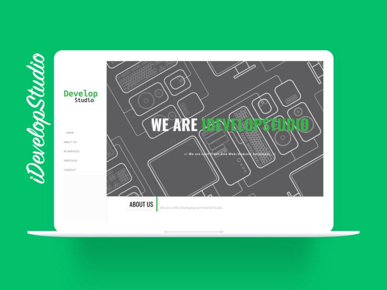 iDevelopStudio Old Design - Website Design