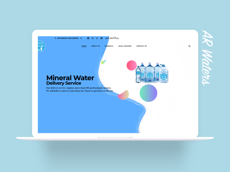 AR Waters - Website Design by iDevelopStudio